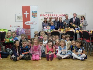 Kinderfreunde, Sammelaktionen zum Tag der Armut 2015
